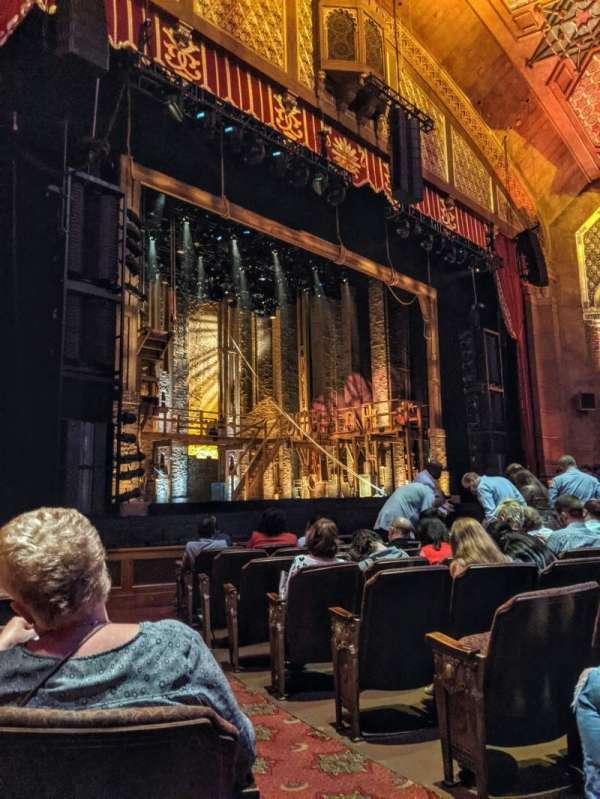 Fox Theatre (Atlanta), secção: Orchestra L, fila: K, lugar: 3
