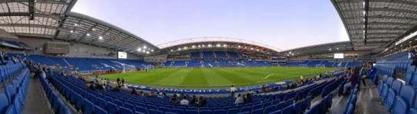 American Express Community Stadium, secção: W1G, fila: O, lugar: 161