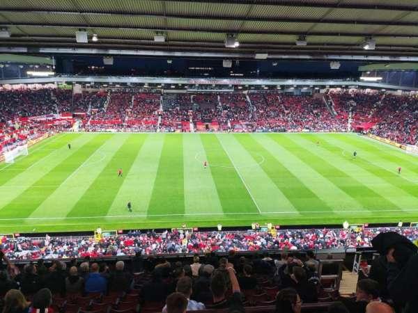 Old Trafford, secção: N3404, fila: 17, lugar: 148