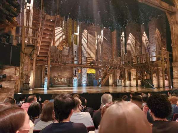 Richard Rodgers Theatre, secção: Orchestra L, fila: G, lugar: 9