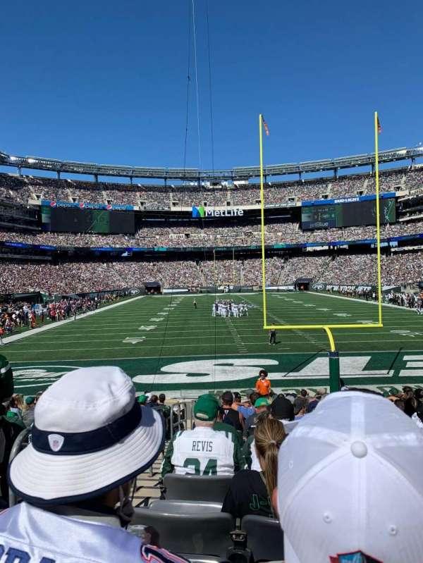 MetLife Stadium, secção: 126, fila: 15, lugar: 25