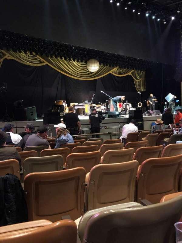 Bethel Woods Center for the Arts, secção: 3, fila: G, lugar: 6