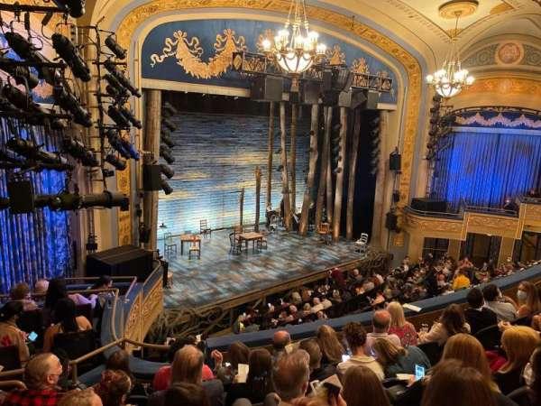 Gerald Schoenfeld Theatre, secção: Mezzanine L, fila: F, lugar: 27