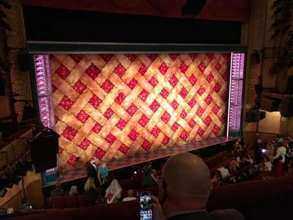 Ethel Barrymore Theatre, secção: Front Mezzanine L, fila: B, lugar: 9
