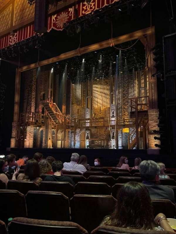 Fox Theatre (Atlanta), secção: Orchestra RC, fila: H, lugar: 70