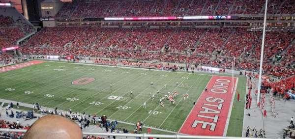 Ohio Stadium, secção: 14C, fila: 5, lugar: 23