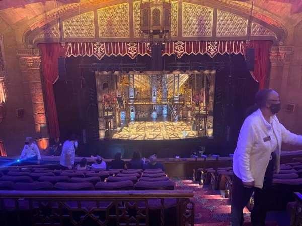 Fox Theatre (Atlanta), secção: Dress Circle Left A, fila: A, lugar: 101