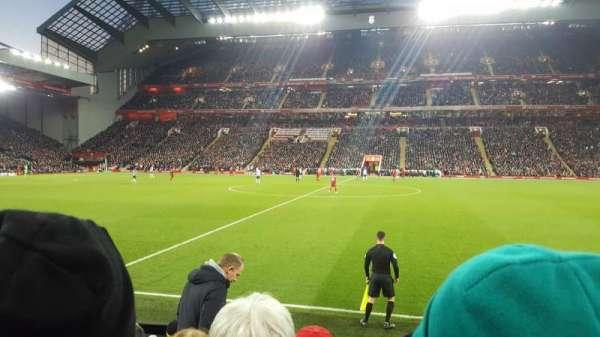 Anfield, secção: KJ, fila: 11