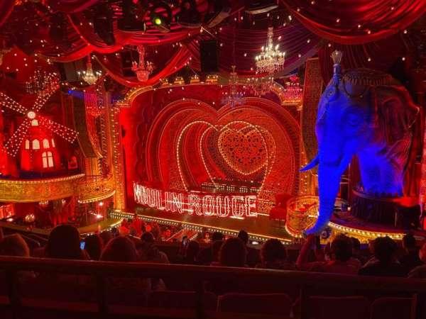 Al Hirschfeld Theatre, secção: Mezzanine R, fila: G, lugar: 14