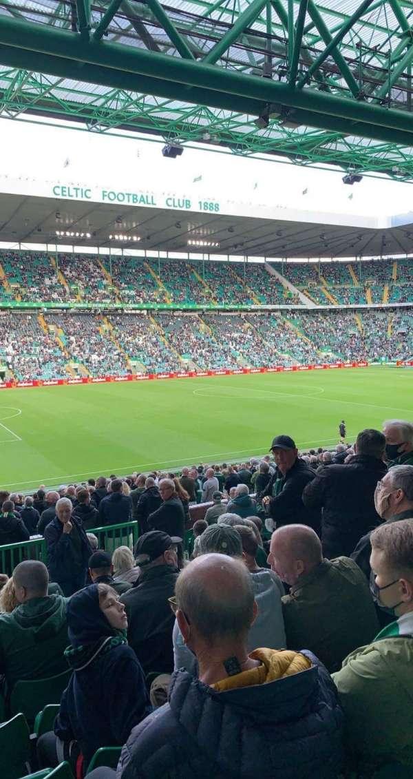 Celtic Park, secção: Ws1, fila: O, lugar: 74