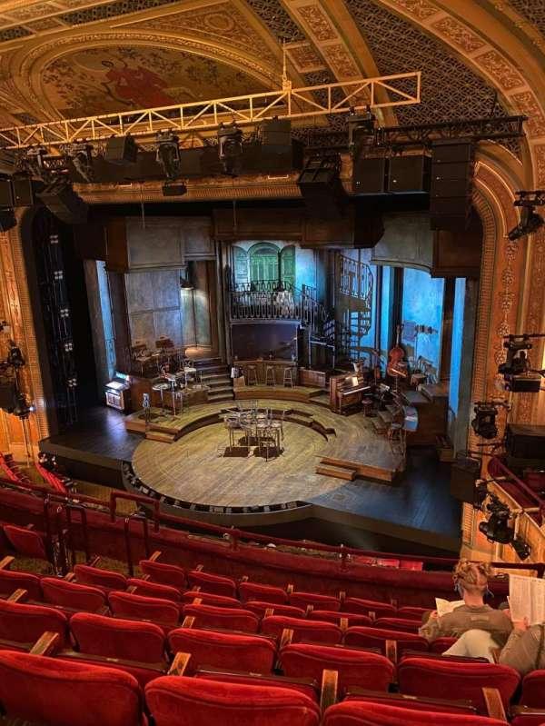 Walter Kerr Theatre, secção: Mezzanine R, fila: G, lugar: 16