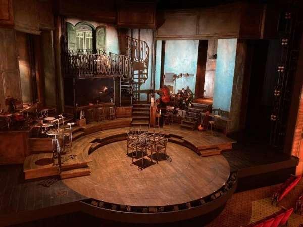 Walter Kerr Theatre, secção: Mezzanine Left, fila: C, lugar: 1