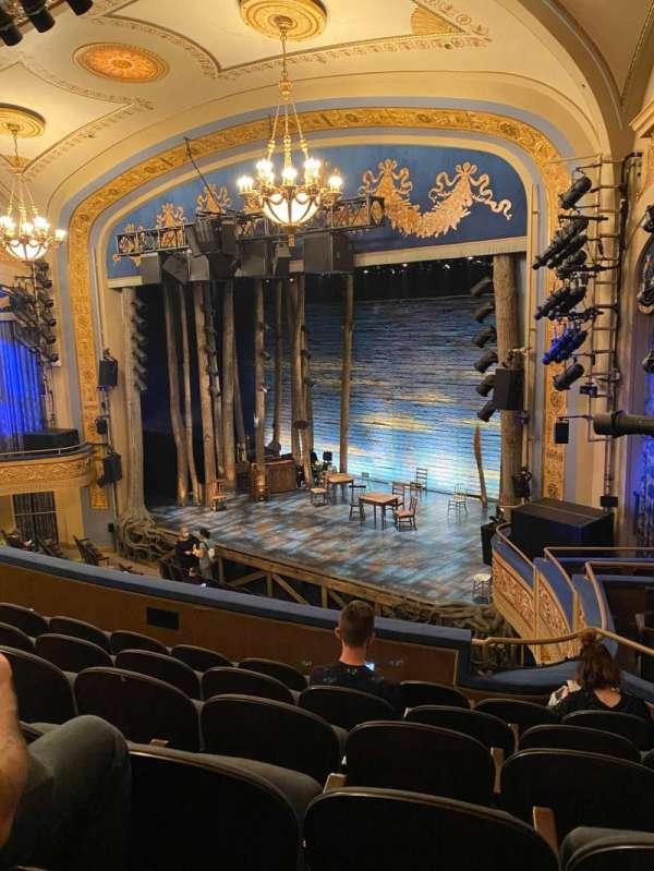 Gerald Schoenfeld Theatre, secção: Mezzanine R, fila: F, lugar: 26
