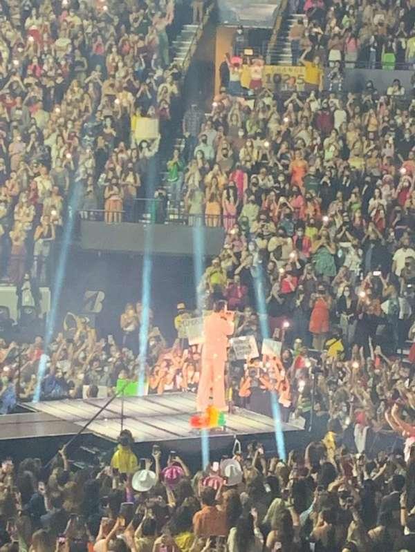 Bridgestone Arena, secção: 116, fila: F, lugar: 11