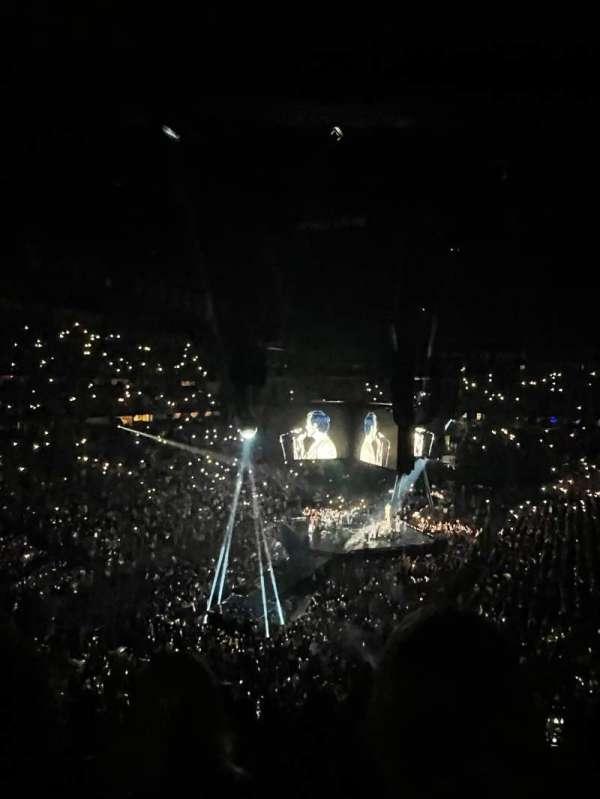 Bridgestone Arena, secção: 203, fila: j, lugar: 13
