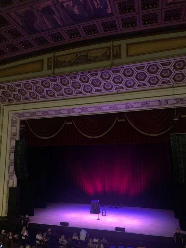 Taft Theatre, secção: Box H, fila: B, lugar: 2