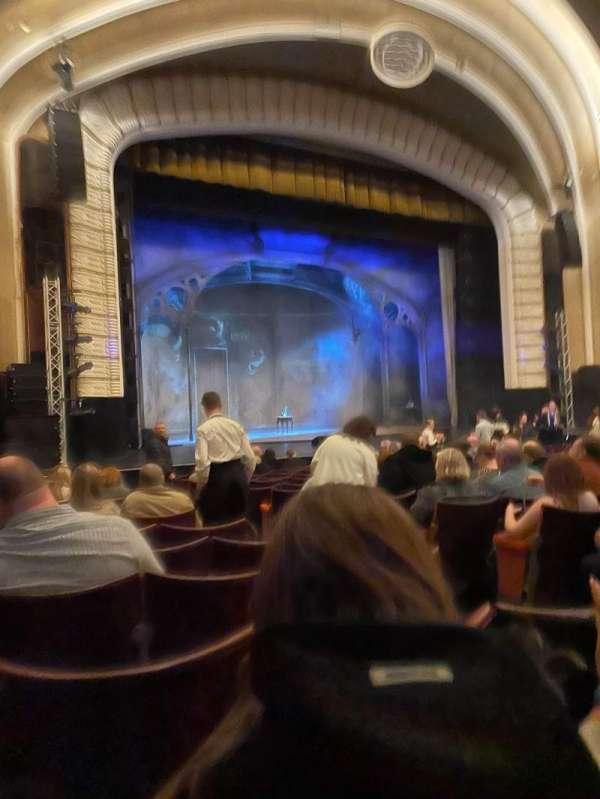 Blackpool Opera House, secção: Stalls, fila: P, lugar: 33P