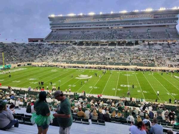 Spartan Stadium, secção: 7, fila: 56, lugar: 28