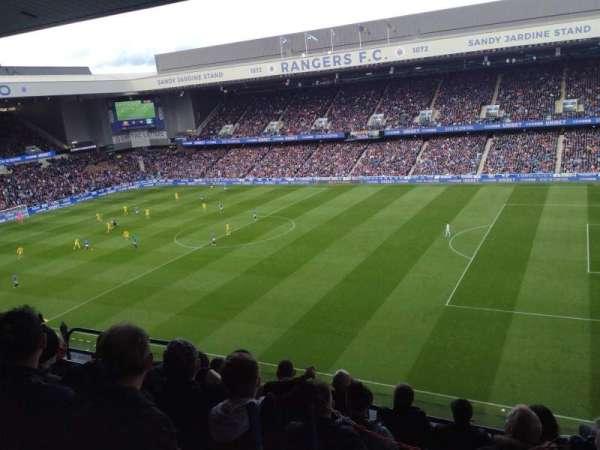 Ibrox Stadium, secção: CD1, fila: F, lugar: 57