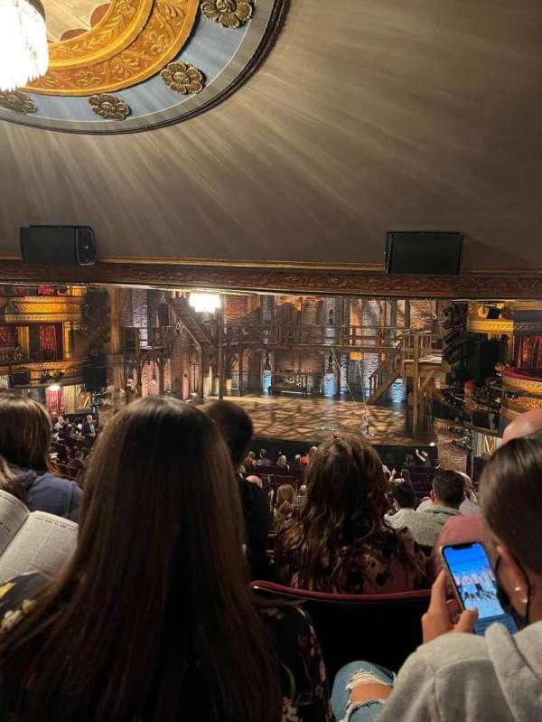 Richard Rodgers Theatre, secção: Orchestra R, fila: U, lugar: 20