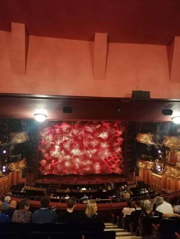 Lyceum Theatre (West End), secção: Royal Circle, fila: L, lugar: 27