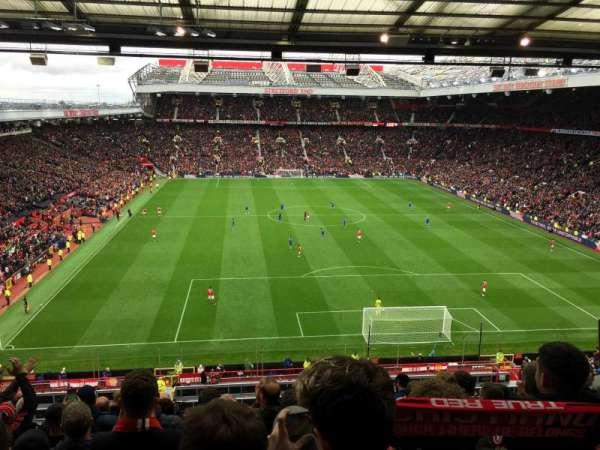 Old Trafford, secção: E332, fila: 10, lugar: 122