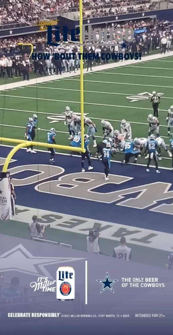 AT&T Stadium, secção: 245, fila: 1, lugar: 1 and 2