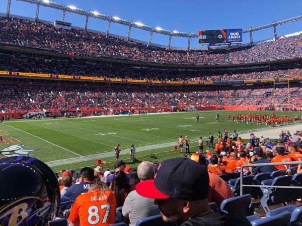 Empower Field at Mile High Stadium, secção: 128, fila: 15, lugar: 5