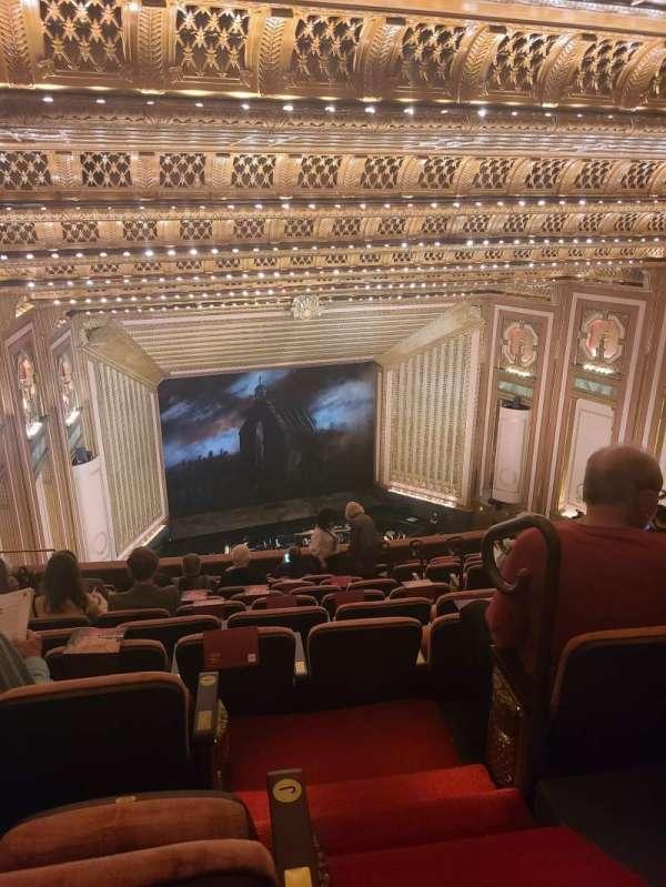 Lyric Opera House, secção: Upper Balcony, fila: k, lugar: 630
