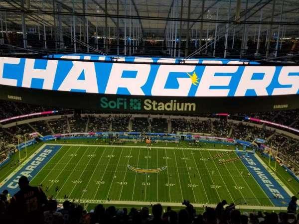 SoFi Stadium, secção: 540, fila: 15, lugar: 10