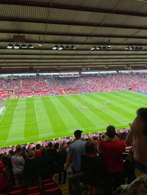 Old Trafford, secção: N3402, fila: 28, lugar: 202