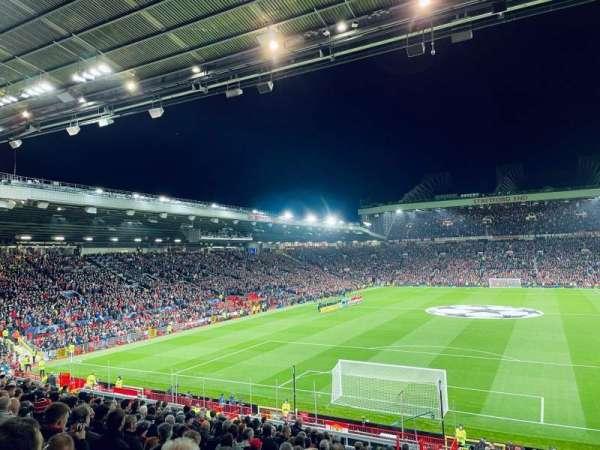 Old Trafford, secção: E236, fila: 20, lugar: 85