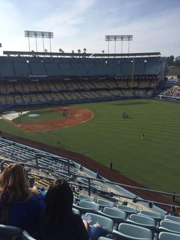 Dodger Stadium, secção: 48RS, fila: F, lugar: 4