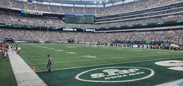 MetLife Stadium, secção: 129, fila: 4, lugar: 17