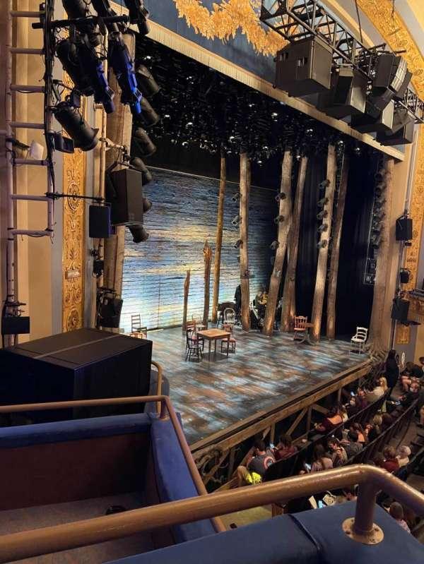 Gerald Schoenfeld Theatre, secção: Box F, lugar: 3