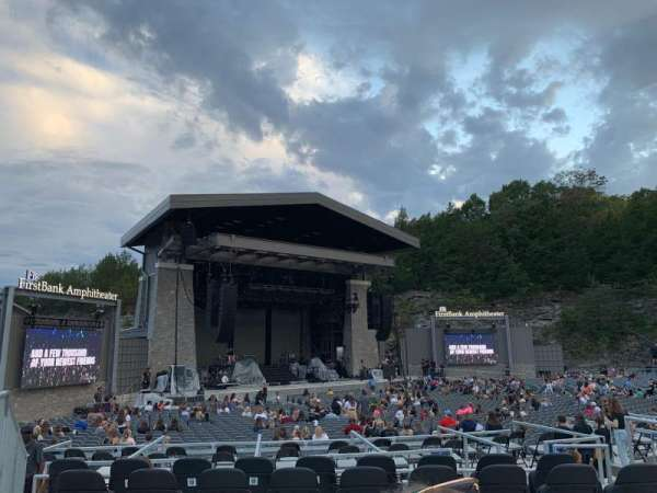 Firstbank Amphitheater, secção: 205, fila: G, lugar: 8
