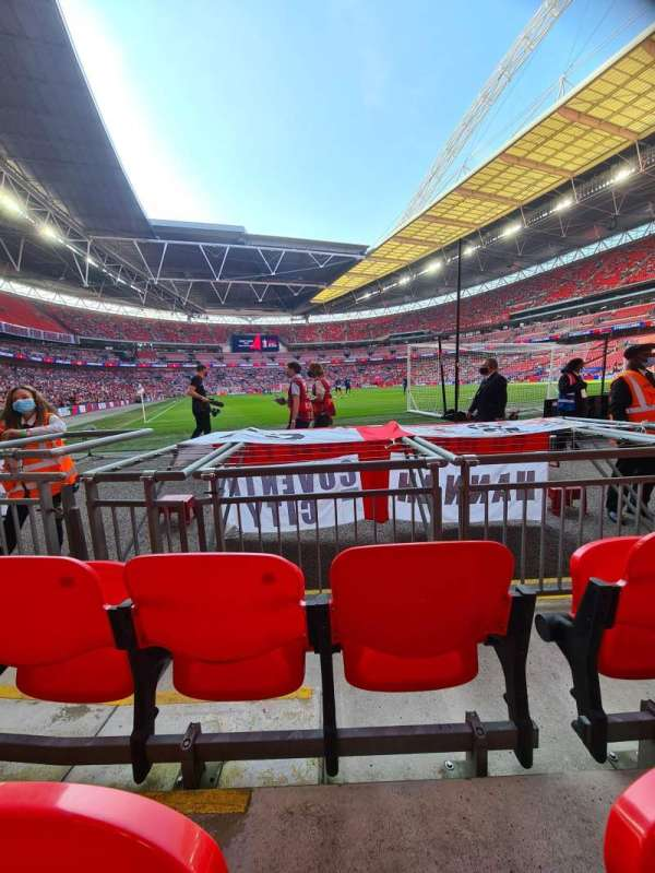Wembley Stadium, secção: 115, fila: 3, lugar: 87