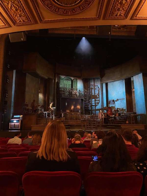 Walter Kerr Theatre, secção: Orchestra C, fila: N, lugar: 113