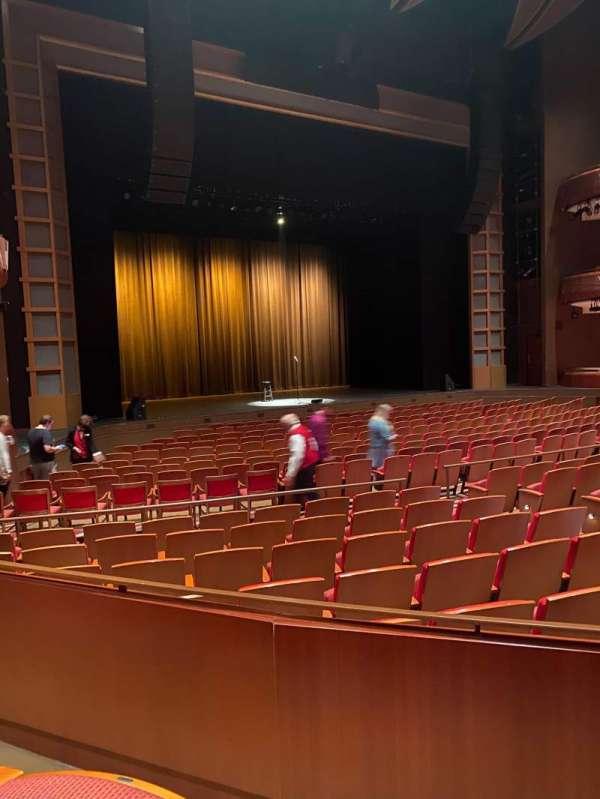 Cobb Energy Performing Arts Centre, secção: L-Orch, fila: S, lugar: 17