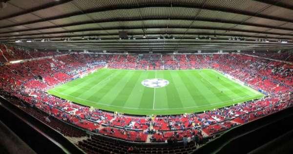Old Trafford, secção: NN4405, fila: 1, lugar: 120