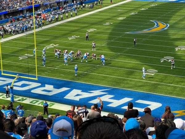 SoFi Stadium, secção: 235, fila: 23, lugar: 6