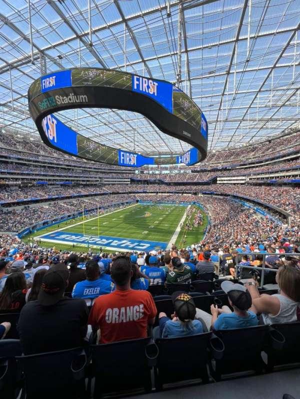 SoFi Stadium, secção: 235, fila: 23, lugar: 8