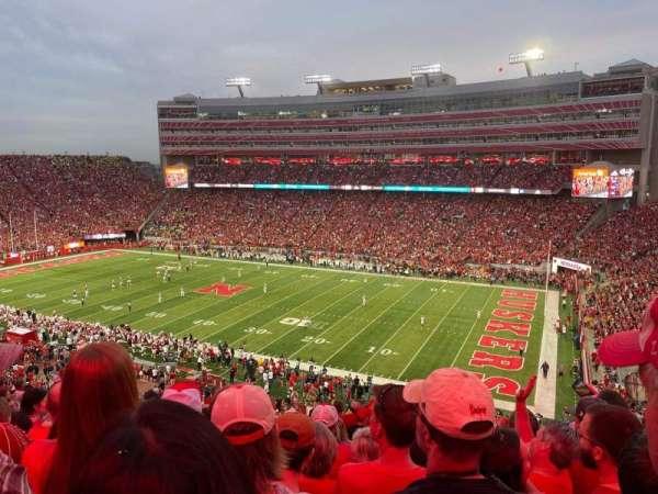 Memorial Stadium (Lincoln), secção: 101, fila: 15, lugar: 9