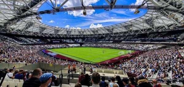 London Stadium, secção: 243, fila: 37, lugar: 203