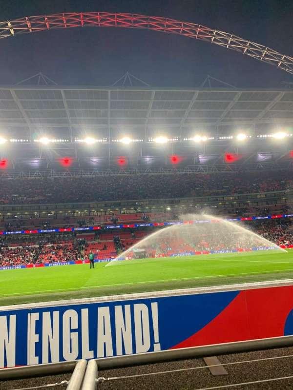 Wembley Stadium, secção: 123, fila: 1, lugar: 25