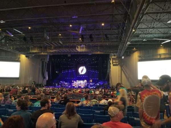 PNC Music Pavilion, secção: 6, fila: R, lugar: 6
