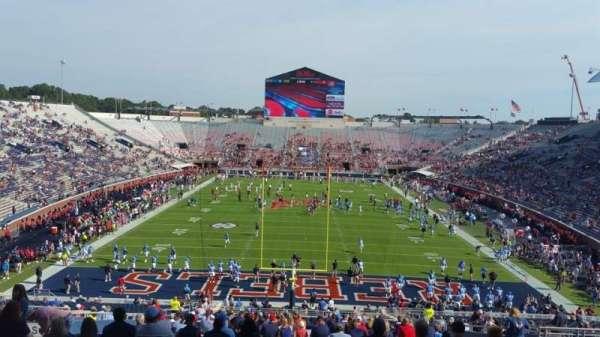 Vaught-Hemingway Stadium, secção: S6, fila: 46, lugar: 14