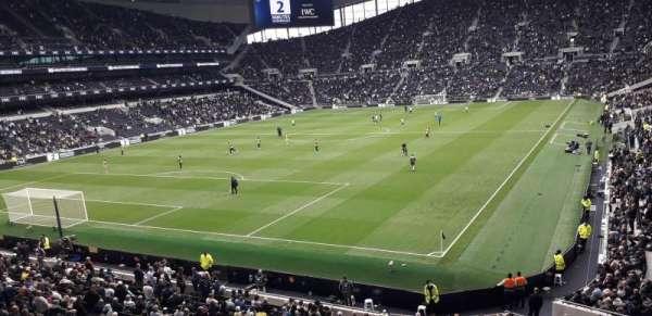 Tottenham Hotspur Stadium, secção: 417, fila: 8, lugar: 278