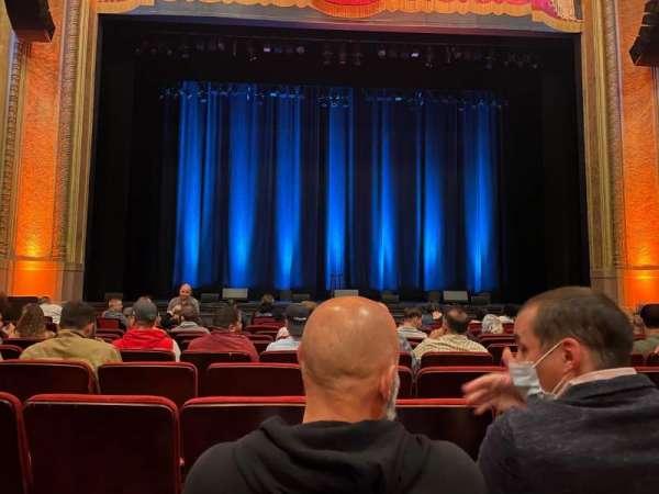 Balboa Theatre, secção: Orch, fila: J, lugar: 113