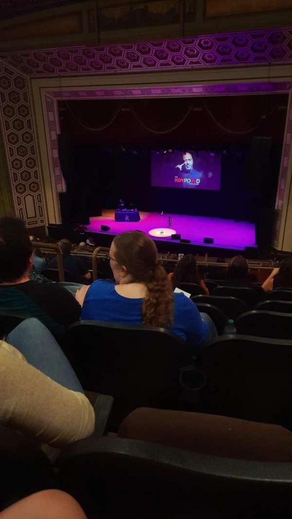 Taft Theatre, secção: BALC5, fila: H, lugar: 3